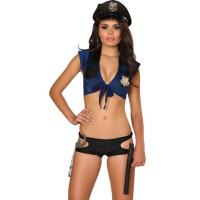 Wholesale Sexy Beat Cop Costume Adult Costumes for Carnival Christmas Halloween from china suppliers