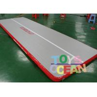 Wholesale Strong 0.55mm PVC Inflatable Gymnastics Air Track For Kids Gym Sport Training from china suppliers