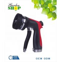 China 8 pattern garden water spray hose nozzle on sale