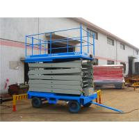 Wholesale Double mast Mobile Scissor Lift Platform / telescopic aerial working platform from china suppliers