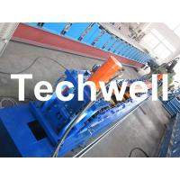 Wholesale Rolling Shutter Door Track Roll Forming Machine With 16 Forming Station TW-DTM45 from china suppliers