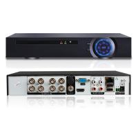 Wholesale 1 * 4 SATA HDD 8 Channel Hybrid Dvr , Security Cctv Dvr Recorder H.264 NVR from china suppliers