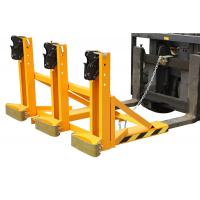 Wholesale Electric drum lifting equipment , forklift drum tipper for plastic / steel drums from china suppliers