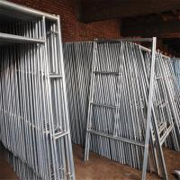 Wholesale Mobile Platform Steel H Frame Construction Scaffolding Safety Walk Through Style from china suppliers