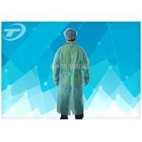 Wholesale Blue PP 115*137 Cm Nonwoven Disposable Protective Gowns Soft Hand Feeling from china suppliers