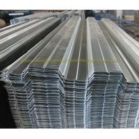 Wholesale Prefabricated Galvanized Firm Floor Steel Decking Corrugated Steel Floor Panels from china suppliers