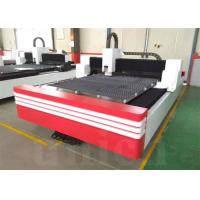 Quality 500w Fiber Metal Laser Cutting Machine / Fiber Laser Cutter Machine with Bochu control system for sale