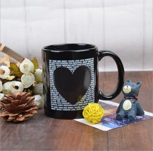 Quality Glazed changing color mug / Eco Friendly Mugs for Coffee , ODM & OEM for sale