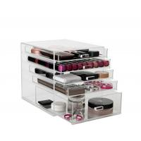 Wholesale acrylic/plastic/Plexiglass/Perspex/PMMA material acrylic makeup organizer from china suppliers
