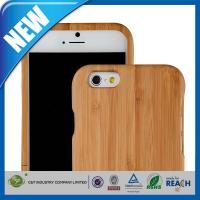 Wholesale Dustproof Snap on design Wood Cell Phone Cases Protective Skin Back Shell , iPhone 6 4.7 Case from china suppliers