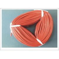Wholesale Silicone Coated Fiberglass Tube 5mm ID For Electric Insulation / Wire Leads Protection from china suppliers