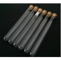 Wholesale Clear test tube with cork top from china suppliers