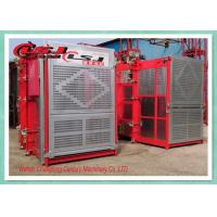 Wholesale Stable Performance Rack And Pinion Elevator Double Cabin For Man Material Lifting from china suppliers