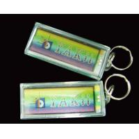 Wholesale QSK-001L-S 375 - 380 nm UV Acrylic Solar Led Keychain from china suppliers