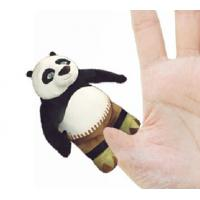 Wholesale 4 inch Fashon Kungfu Panda Plush Finger Puppets Kids Finger Puppets from china suppliers
