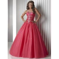 Wholesale Gorgeous Watermelon Quinceanera Party Dresses Strapless And Organza from china suppliers