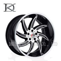 "Wholesale Auto Luxury Concave Forged Wheels 20"" Black Concave Rims Machined from china suppliers"