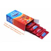 Wholesale Scented Durex Extended Pleasure Condoms , Adult Male Flavoured Condoms from china suppliers