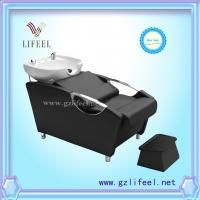 Wholesale fashional beauty salon furniture Black shampoo chairs from china suppliers
