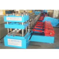 Wholesale Gear Box Driven GuardRail Roll Forming Machine , Metal Deck Roll Forming Machine 12 Stations from china suppliers