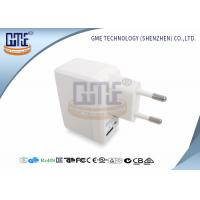 Wholesale White Universal Travel Power Adapter 5V 1A With ROHS GS Certificated from china suppliers