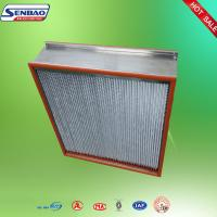 Wholesale Food Beverage Industry Replacement Hepa Filters High Temperature Resistance from china suppliers