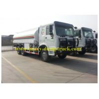 Wholesale HOWO Oil Transportation Trucks 20 CBM and 20000L drive 290hp for Africa from china suppliers