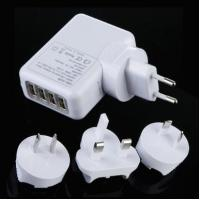 Wholesale 4 Port Universal USB Travel Charger Wall AC Adapter For Home , Multi Plug from china suppliers