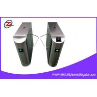 Wholesale Access Control Reader Pedestrian Turnstile Gate with Ticket System from china suppliers