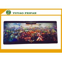Wholesale Full Color Rubber Fabric Standard Game PlayMats With Rohs Certificate from china suppliers