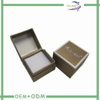 Wholesale Square gold gift boxes jewelry With Insert / eco jewellery packaging boxes from china suppliers