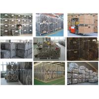 Industry folding warehouse galvanized wire mesh cage