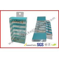 Wholesale PETG / PVC Plastic Clamshell Packaging box with hanger , plastic gift boxes from china suppliers