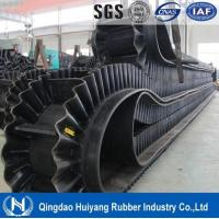 Wholesale 500 Cleat Height Corrugated Sidewall Rubber Conveyor Belt high tensile strength long-life use from china suppliers