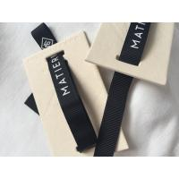 Wholesale 12mm Ribbon Attached Creative Clothing Hang Tags Retail Clothing Tags 3D Feel from china suppliers