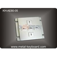 Wholesale Customizable Stainless Steel Keypad 5 Keys For Industrial Console Area from china suppliers