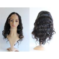 Wholesale Soft And Silky Unprocessed Brazilian Remy Hair Lace Front Wigs No Shedding No Tangle from china suppliers
