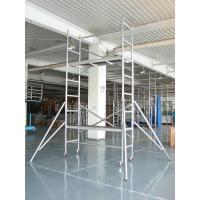 Wholesale OEM Light Weight Foldable Scaffolding for Maintenance Aluminum alloy Scaffold from china suppliers