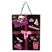 Wholesale PP Rope Luxury Paper Carrier Bags For Birthday Gift 26cm X 12cm X 32.5cm from china suppliers