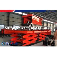 Wholesale 2 Ton 6m Hydraulic Lift Platform Hydraulic Lifting Table In Red from china suppliers