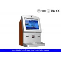 Wholesale Customized Stylish Wallmount Kiosk With Camera , Thermal Receipt Printer , Cash Acceptor from china suppliers