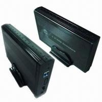 Buy cheap 3.5 inch USB HDD Enclosure with 12V/2A Power Supply from wholesalers