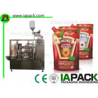 Wholesale Tomato Paste Packing Machine , Poly Pouch Packing Machine PLC  Control from china suppliers