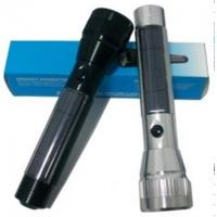 Wholesale Best Solar Rechargerable led Aluminium Flashlights PP-EFC6073  0.32W  from china suppliers