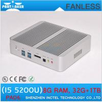 Wholesale Broadwell Mini PC Intel Core i5 5200U 3M Cache Max 2.7Ghz Fanless PC 0.00dB Linux Ubuntu O from china suppliers