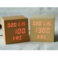 Wholesale Square Shape Calendar Snooze Temperature Mulit Function Desktop Clock from china suppliers