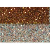 Wholesale Wall Paters And Crafts 3D Glitter Fabric 54/55'' Width And Knitted Backing Technics from china suppliers