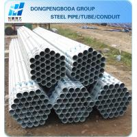 Quality Galvanized Scaffolding Tube 48.3 X1.8mm X6m export import China supplier made in China for sale