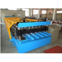 Quality Manual De - Coiler Cnc Cold Roll Forming Machine 8 - 15m / Min Speed for sale