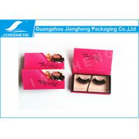 Wholesale Magnetic Eyelash Packaging Box With Colourful Offset Printing from china suppliers